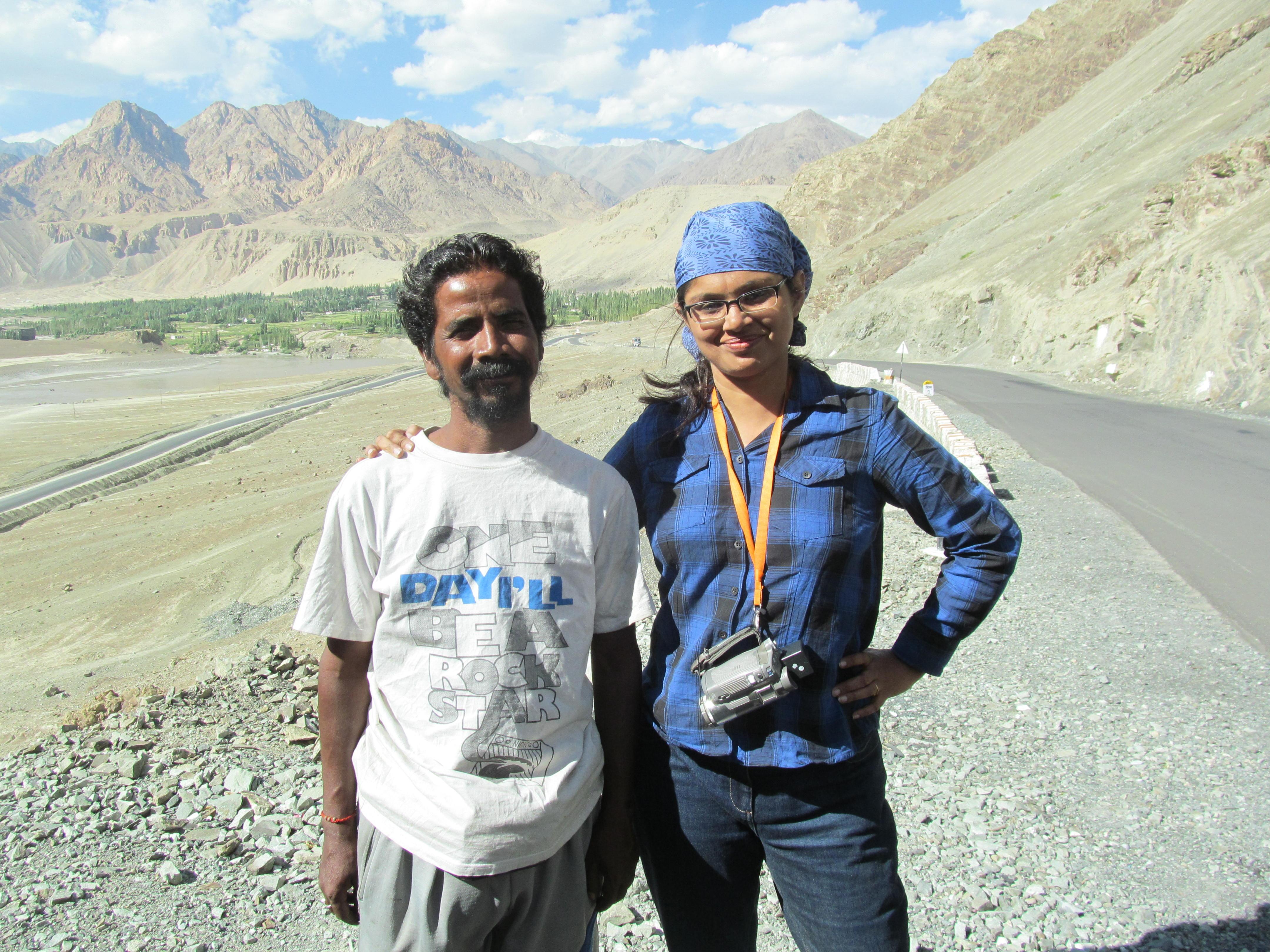 Ladakh Chale Rickshawala