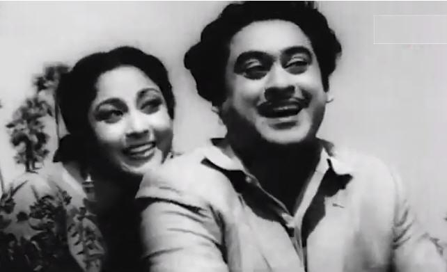Mala Sinha and Kishore Kuma