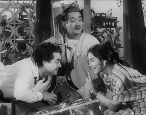 Kishore and Kalpana Kartik in Naughty Boy