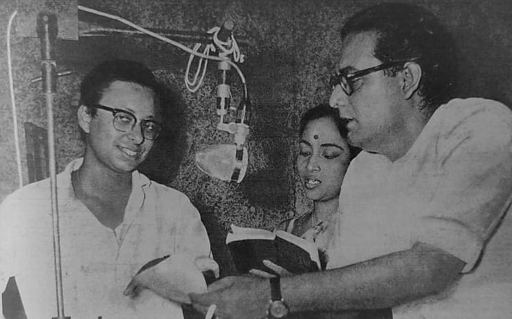 Hemant Kumar, Geeta Dutt and RD Burman