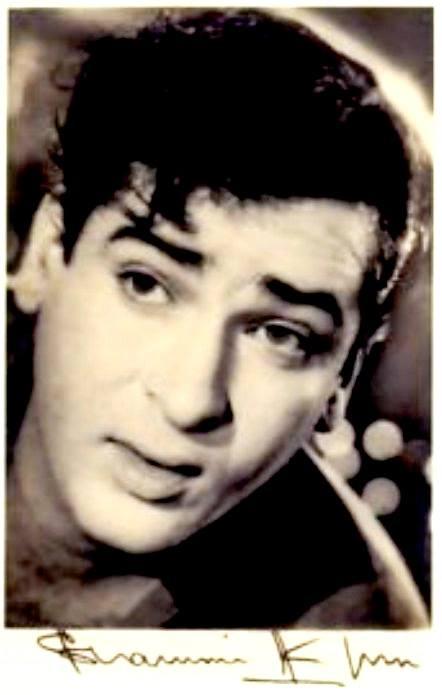 Shammi Kapoor autographed