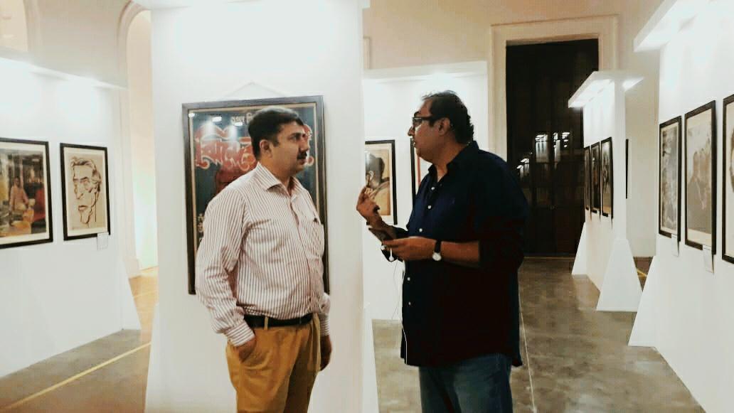 SMM Ausaja and Shivendra Singh Dungarpur
