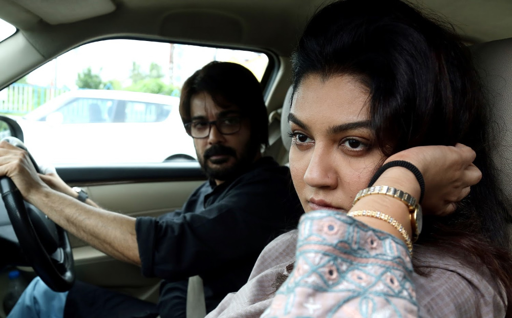 Jaya Ahsan and Prosenjit in Robibaar