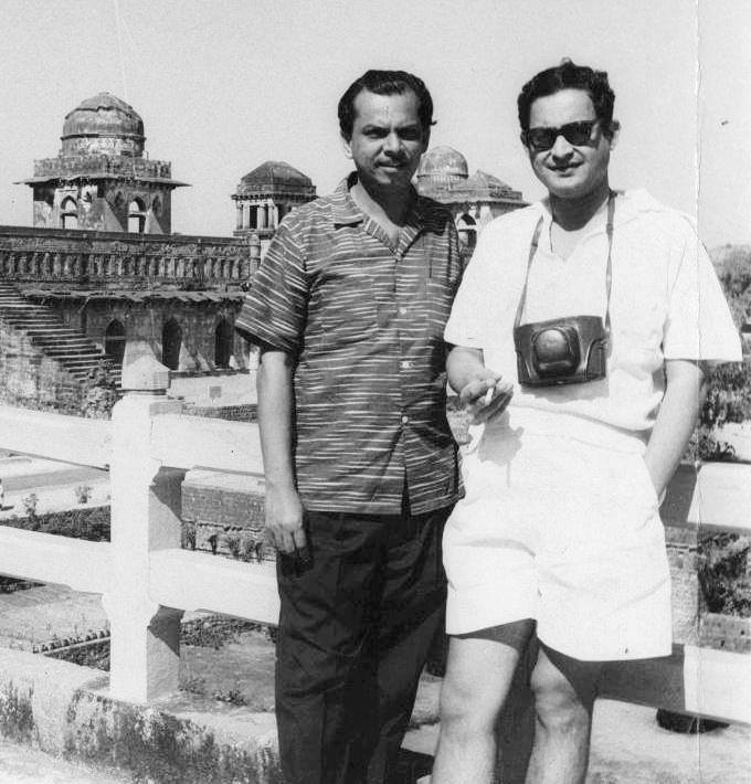 Johnny Walker and Guru Dutt