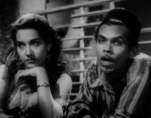 Shakila and Johnny Walker in Aar Paar