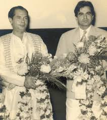 Bimal Roy and Dilip Kumar