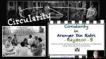 Ray@100 Lecture 5: Circularity in Satyajit Ray's Aranyer Din Ratri