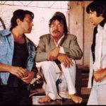 Dharmendra, Jagdeep and Amitabh Bachchan in Sholay