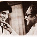 Amitabh Bachchan and Ashok Kumar