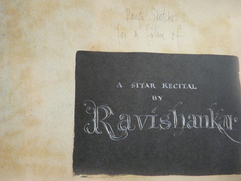 Ravi Shankar and Satyajit Ray