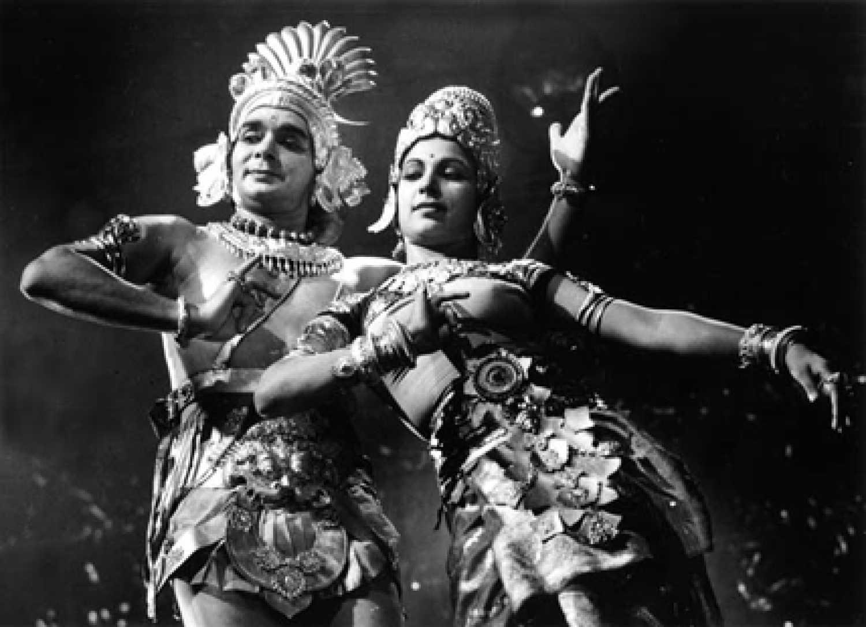 Uday Shankar and Amala Shankar Kalpana