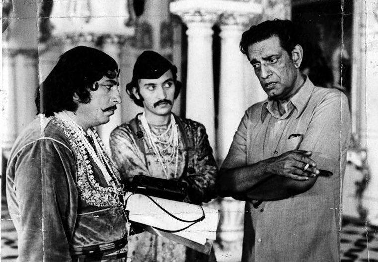 amjad khan victor banerjee satyajit ray