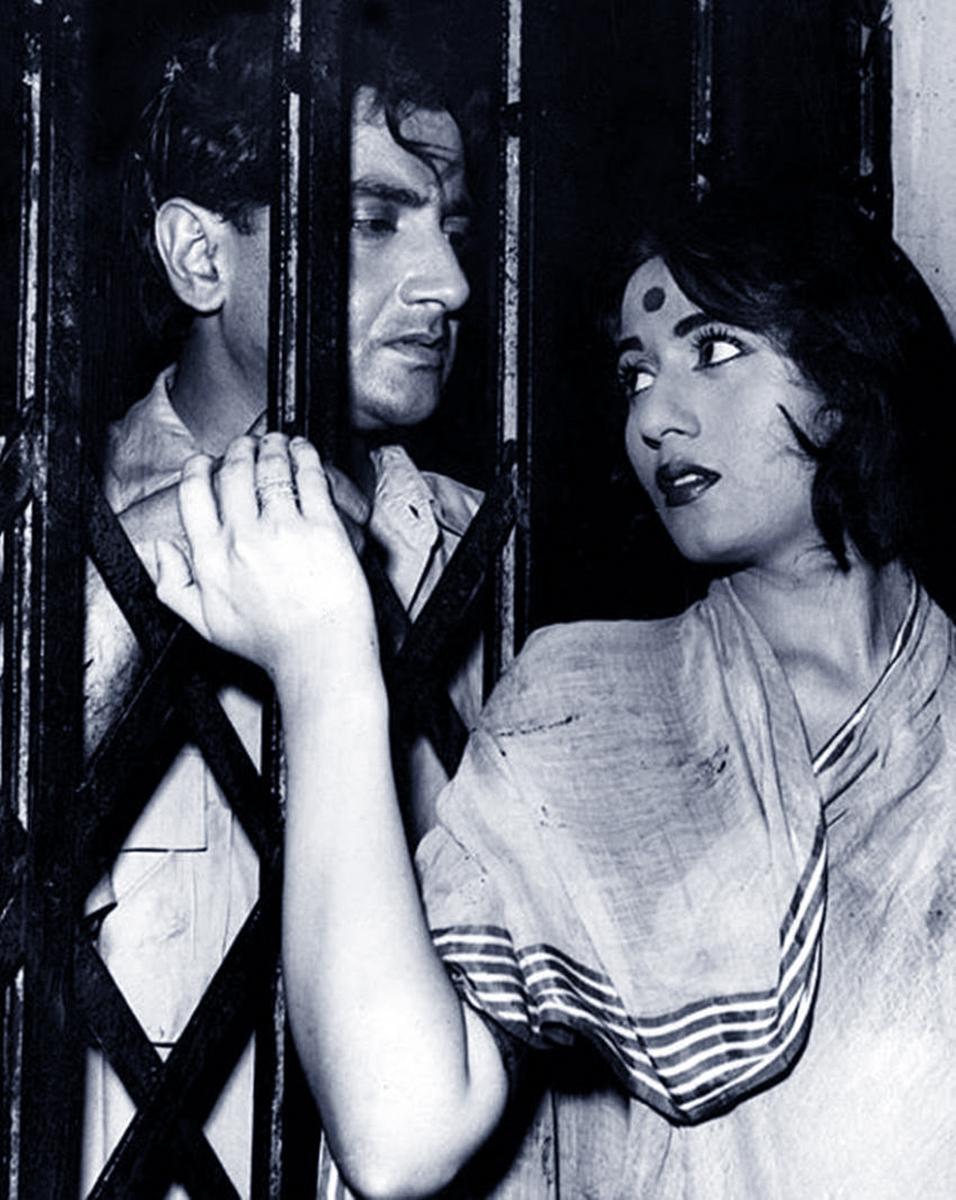 Madhubala and Bharat Bhushan