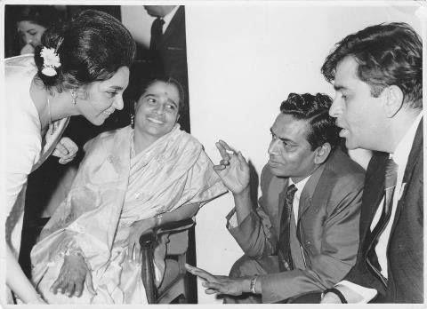 Shakuntala, Shailendra and Raj Kapoor