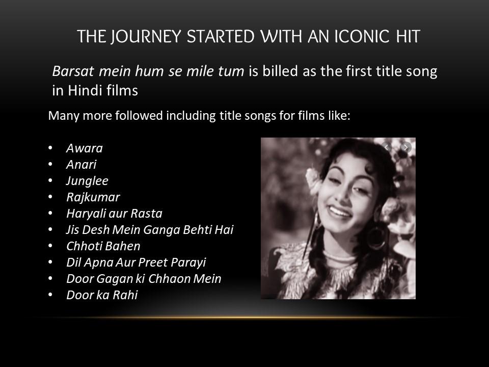 title songs of Shailendra
