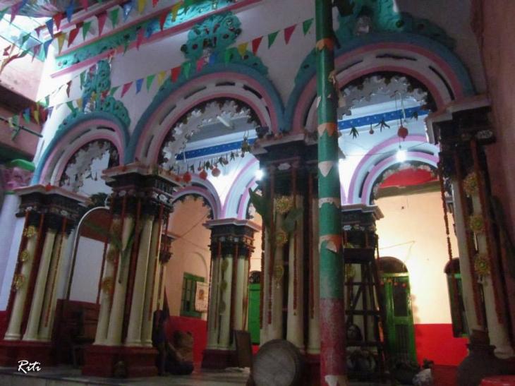 Kabiraj Ganga Prasad Sen's Durga Puja