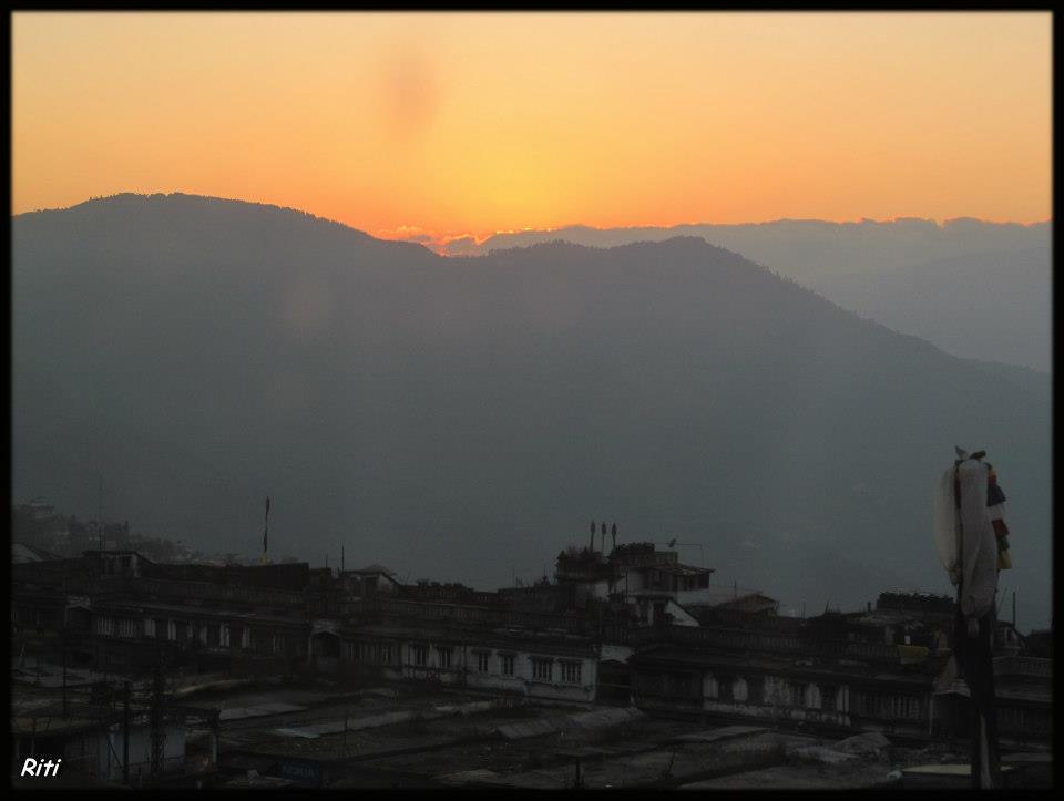 View of Darjeeling
