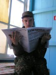 Newspaper reading is a personal interest or hobby but necessary to be read by everyone.