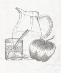 Art By Kids | Still Life Pencil Sketch