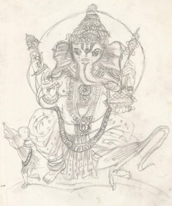 Art By Kids | Ganesha