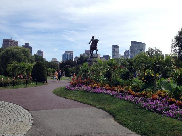 The walks on Boston Common