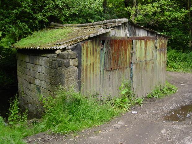 dilapidated-hut