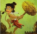 When Hanuman Tried to Swallow the Sun