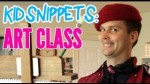 """Kid Snippets: """"Art Class"""""""