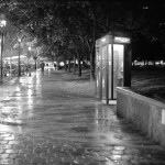 Outside the phone booth, it was pouring. Delhi was experiencing the first spell of winter.