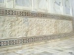 Marble Design Below the Iwans