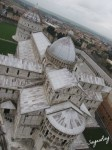 Top View of The Cathedral of Pisa