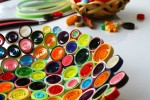 Beautiful colors of quilling