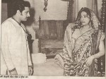 Suchitra Sen with Ranjit Mullik in Devi Choudhrani (1974)