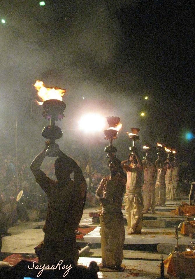 Ganga Arati, an ancient ritual