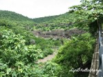 Ajanta Caves - View from right side