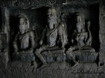 Sculpture of Avalokiteshwara - Ellora Caves