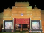 Antaranga puja pandal is inspired from the Vivekananda Rock Memorial Temple of Kanyakumari