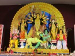 replica of the original idol worshiped at the first ever Durga Puja held at Belur Math