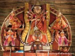 Maa Durga and her children are all charm and perfection