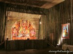 Durga idol is inspired from Assamese art
