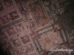 Painting on ceiling - Ajanta Caves