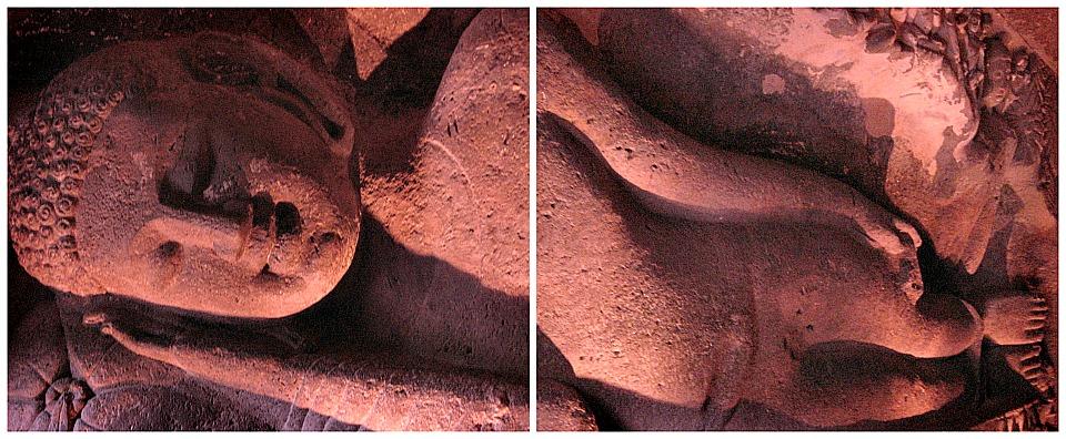 Reclining Buddha - Ajanta Caves