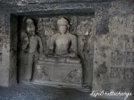 Seated Buddha - Ellora Caves
