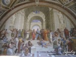 The School of Athens by Raphael at St Peter's Basilica