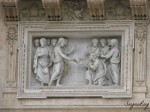 Relief by Buonvicino at St Peter's Basilica