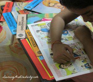 Reading Amar Chitra Katha
