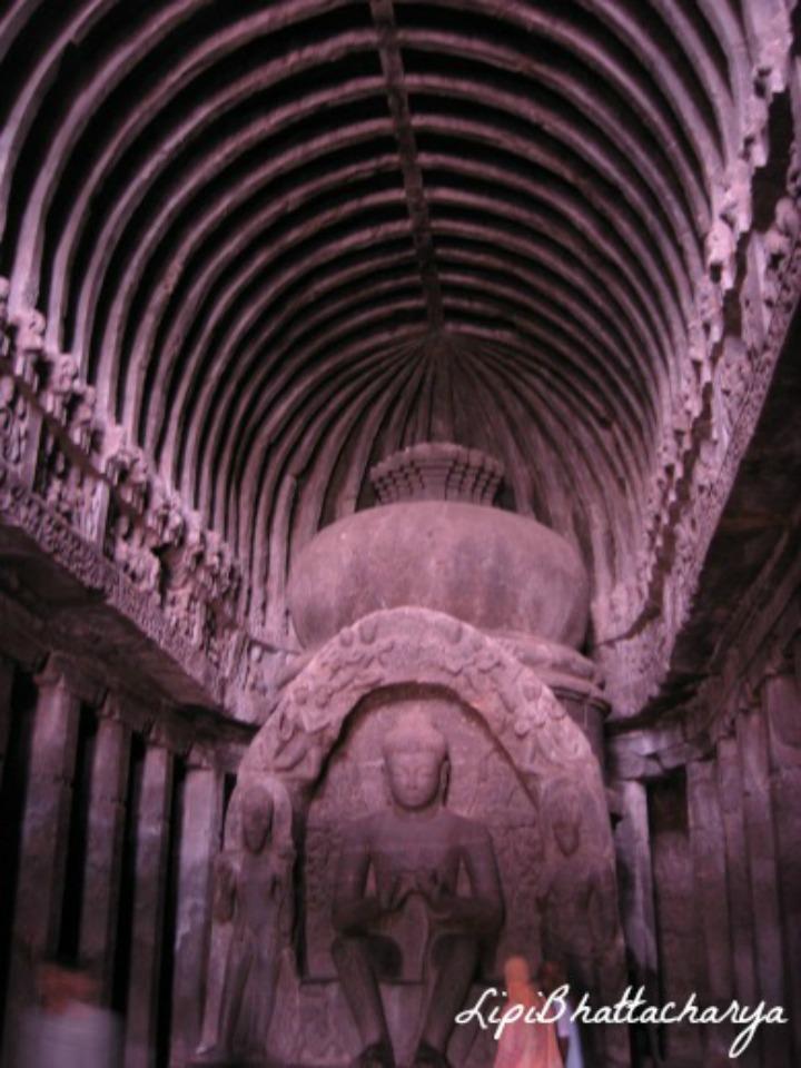 Buddhist Carpenter's Cave - Ellora Caves