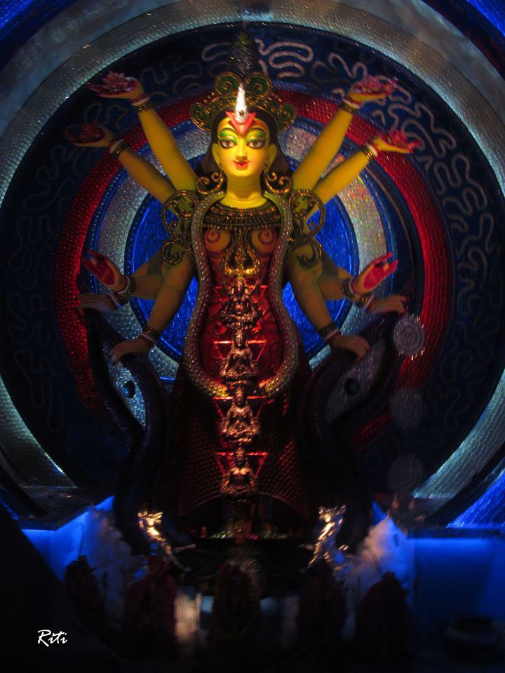 Lake Town Pradip Sangha Durga Puja 2013