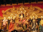 The 2013 Durga Puja in Kolkata at Sree Bhumi witnessed a display of  jewellery valued at Rs 4 crore.