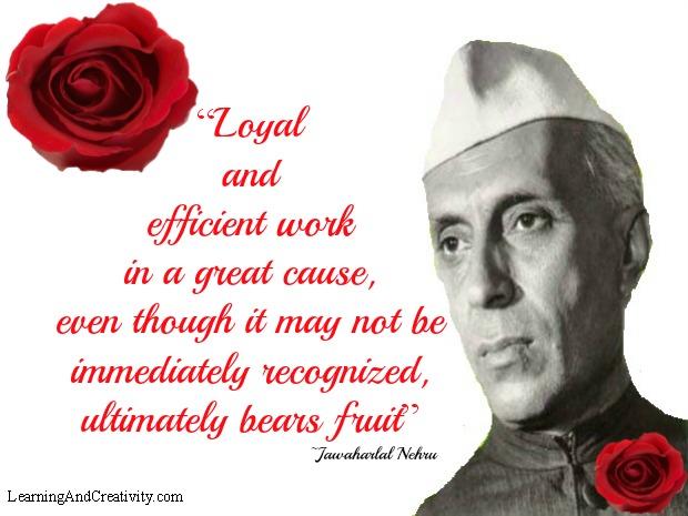 Quote by Jawaharlal Nehru
